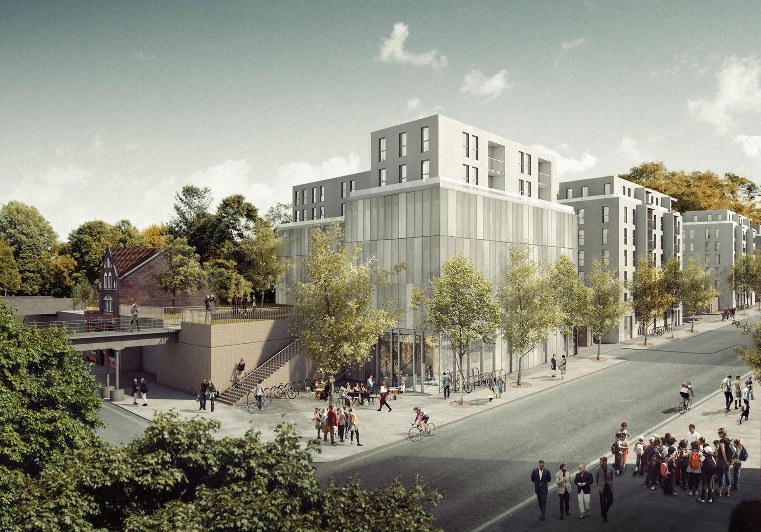 New Residential Quarter Bautzener Strasse, Berlin