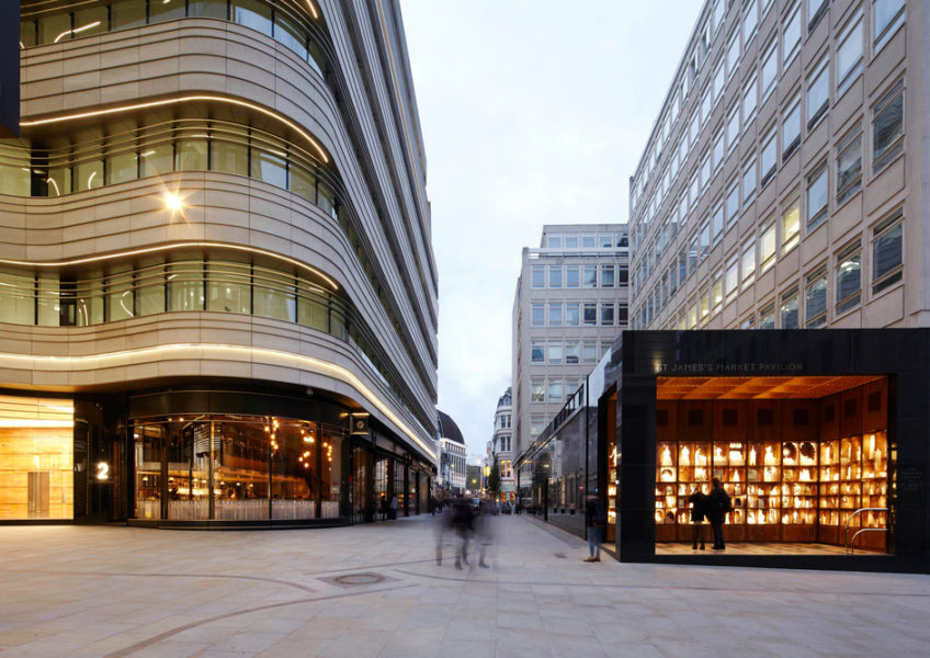 Make Architects St James Market public space